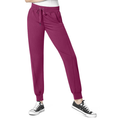 Women's Yoga Jogger Scrub Pants | 7-Pocket Cargo Jogger Scrub Pants With Yoga Waist | Jogger Scrub Pants Wholesale