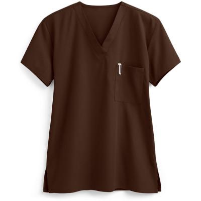 Unisex Scrub Tops Nursing | 1-Pocket Scrub Tops Cotton | Medical Scrub Tops Wholesale Supplier