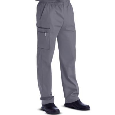 Scrub Pants For Men | 7-Pocket Zipper Front Inside Drawstring Cargo Scrub Pants Cotton | Wholesale Scrub Pants Supplier