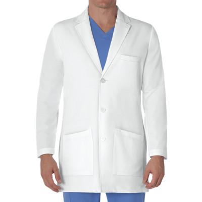 Lab Coats For Men | 3-Pocket White Long Sleeve Button Scrub Lab Coats | Custom Lab Coats With Logo Wholesale Manufacturer