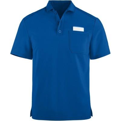 Men's Polo Scrub Tops | 1-Pocket Short Sleeve Polo Scrub Tops Breathable | Wholesale Polo Scrub Tops With Logo Supplier
