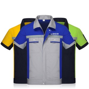 Unisex Construction Uniforms | Short Sleeve Work Uniforms For Mechanics | Custom Work Uniforms With Logo Supplier