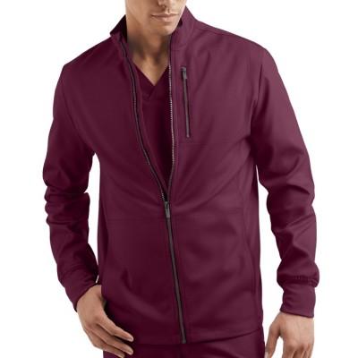 Scrub Jackets For Men | 4-Pocket Warm-Up Zip Front Scrub Jackets | Wholesale Scrub Jackets With Logo Manufacturer