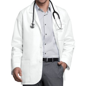 Lab Coats For Men   Long Sleeve Short Button Doctor Lab Coats   Custom Lab Coats With Logo Wholesale Supplier