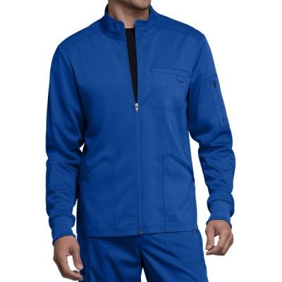 Men's Scrub Jackets For Doctors | 4-Pocket Zip Front Warm Up Scrub Jackets | Wholesale Scrub Jackets With Logo Manufacturer
