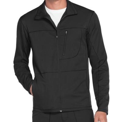Scrub Jackets For Men | 3-Pocket Zip Front Scrub Jackets | Custom Scrub Jackets With Logo Wholesale Supplier