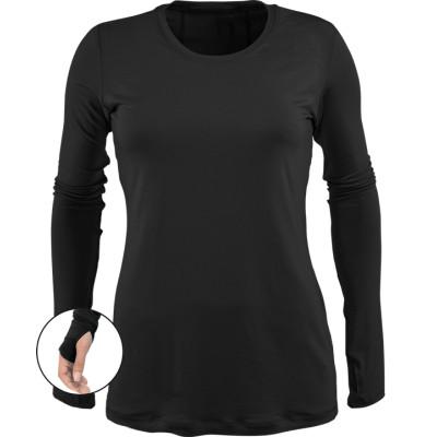 Women's Stylish Scrubs Inners | Long Sleeve Thumbholes Knit Undershirt For Scrubs | Wholesale Scrub Inners Manufacturer