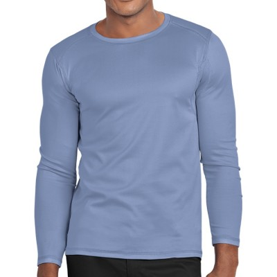 Men's Undershirt For Scrubs | Long Sleeve Crew Neck Scrubs Inners Tee | Wholesale Scrubs Inners Manufacturer