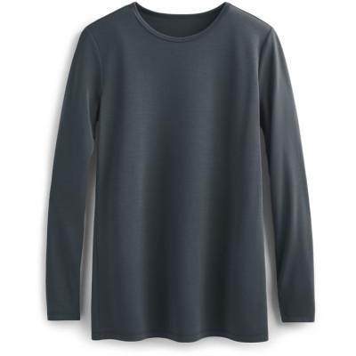 Unisex Long Sleeve Scrub Shirt   Long Sleeve Knit Tee-Shirt Quality   Wholesale Scrub Shirts Medical Affordable Manufacturer
