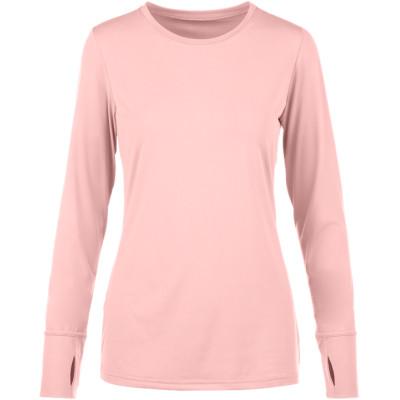 Women's Under Scrub T Shirts   Knit Stretch Scrubs Tee With Full Sleeves   Wholesale Scrub Under Shirts Manufacturer