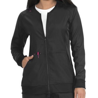 Scrub Jackets For Women Stylish | 2-Pocket Zip Up Long Sleeve Scrub Jackets | Wholesale Scrub Jackets In Bulk Manufacturer