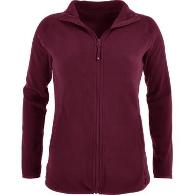 Women's Fleece Jacket For Scrubs   2-Pocket Zip Front Sport Scrub Jackets   Wholesale Fleece Nursing Scrub Jackets