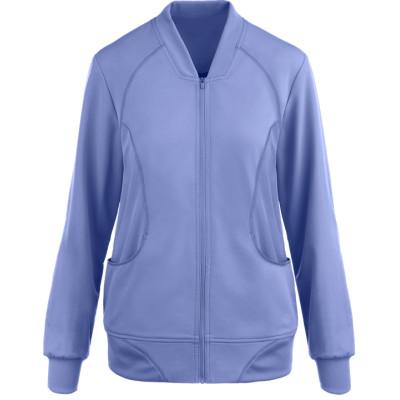 Scrub Jackets For Women | 2-Pocket Zip-Up Long Sleeve Scrub Jackets | Wholesale Bulk Scrub Jackets Manufacturer