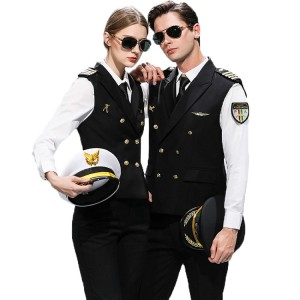 Airline Crew Uniforms | Flight Crew Uniforms Airline Sets&Accessories Custom | Custom Airline Uniforms Supplier Wholesale