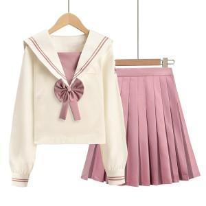 School Uniforms For Girls   Long Sleeve Shirts&Pleated Skirts Uniforms   Custom School Uniforms Wholesale Distributor