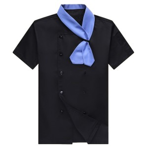 Chef Uniforms For Sale | Short Sleeve Chef Uniforms Restaurant Workwear | Custom Chef Jacket Embroidery Manufacturer