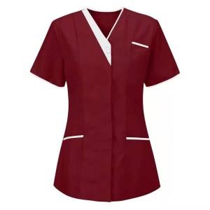 Housekeeping Uniforms Hotels | Stylish Short Sleeve Housekeeping Uniforms | Housekeeping Uniforms Wholesale Manufacturer
