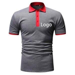 Polo Shirts Men | Short Sleeve Polo Shirts Embroidery Custom | Wholesale Polo Shirt Supplier
