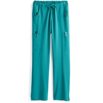 Scrub Pants For Women | Straught Leg Scrub Pants Elastic Waist Drawstring | Wholesale Medical Scrub Pants Manufacturer