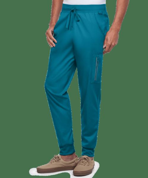 Men's Scrub Pants Joggers | Stretch 4-Pocket Drawstring Scrub Pants | 4 Way Stretch Scrub Pants Wholesale