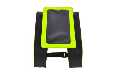 防水自行车框架包电话包-黄色