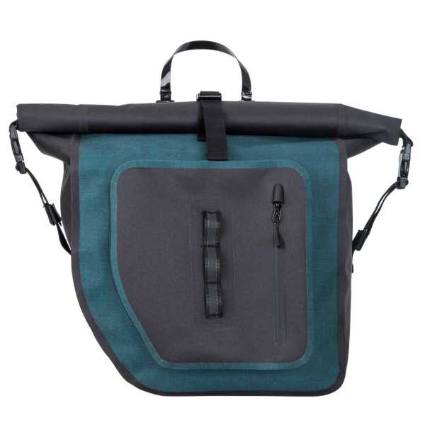 Water-resistant Cycling Pannier Bag for Wholesale Blue