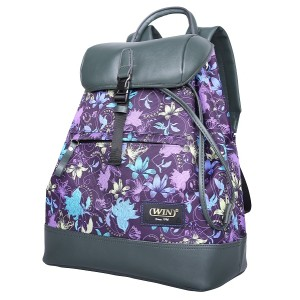 Women Vintage Backpack Fashion Rucksack Schoolbag Travel Daypack with Safe Closure