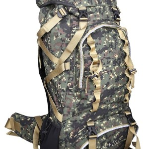 Large Capacity Frame Backpack for Camping Bag