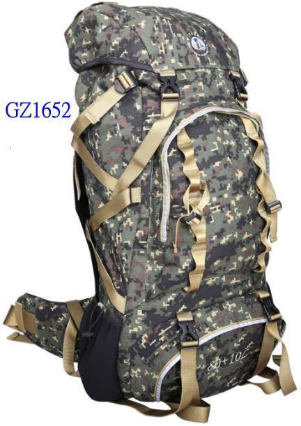 大容量防水徒步旅行背包