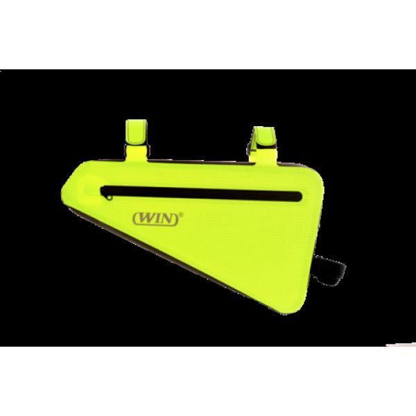 Waterproof Triangle Pouch Bike Bag-Yellow