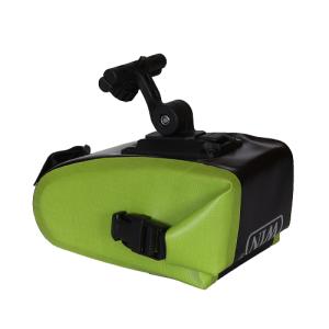 轻便的自行车马鞍包-深绿色
