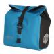 Roll Top Handlebar Bag Water Resistant Bag-Blue