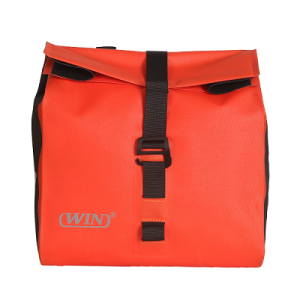 Waterproof Bike Handlebar Bag Bike Front Bag- Red