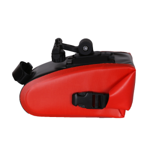 Water-resistant Bike Saddle Bag - RED