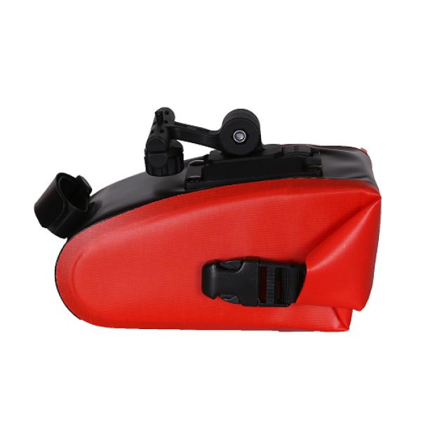 Bike Saddle Bag Bike Bag Under Seat with Reflective Logo - RED