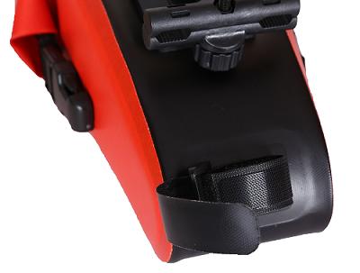防水自行车马鞍包-红色