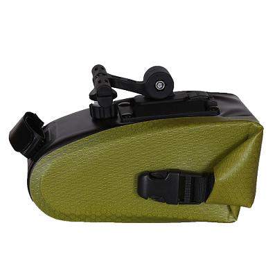 耐用自行车储物袋-浅绿色