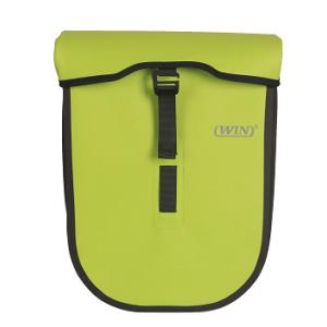 Welded Seamless Cycling Pannier Bag Deep Green