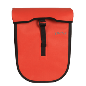 Water-resistant Bicycle Pannier Bag Red