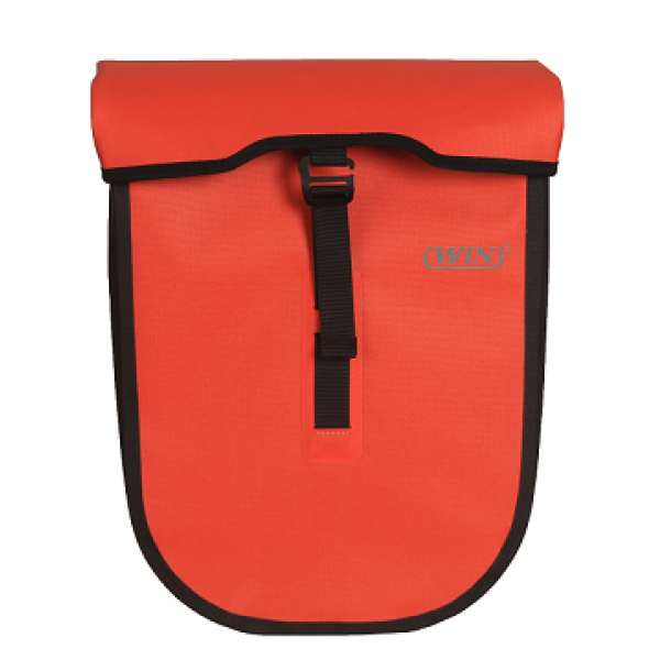 防水自行车驮包红色