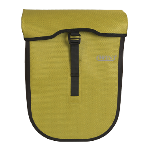 Large Capacity Bike Pannier Bag Easy to Install Light Green