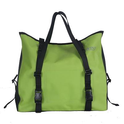 耐用的自行车行李箱袋,深绿色