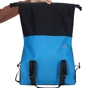 焊接无缝自行车后备箱袋蓝色