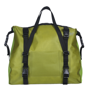 Welded Seamless Bicycle Storage Bag Light Green