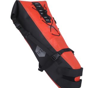 Custom Water-resistant Travel Bike Seatpack Bag Saddle Bag