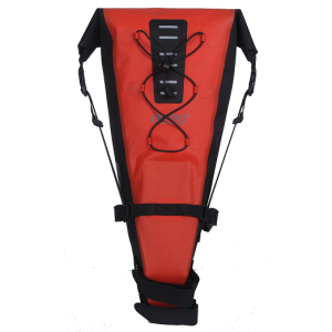 Water-resistant Travel Bike Seatpack Bag Red