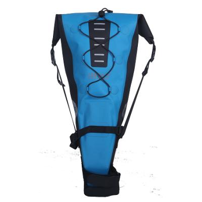 焊接无缝自行车储物袋,蓝色