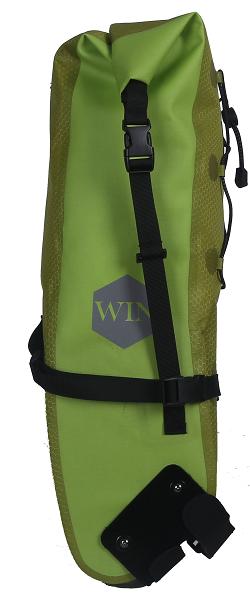Reflective Logo Bag Bicycle Seat Pack Bag Rear Saddle Bag