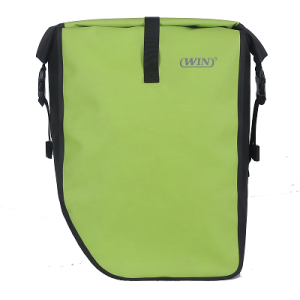 Large Capacity Bicycle Pannier Bag - Deep Green
