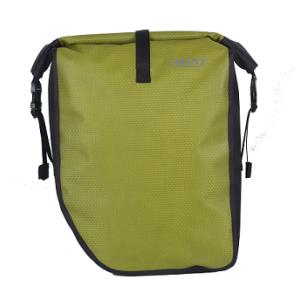Durable Bicycle Pannier Bag Light Green